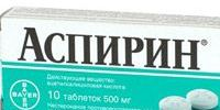От чего помогает Аспирин: инструкция по применению