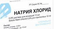 От чего помогает Натрий хлорид