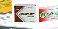 Антибиотики при хеликобактер пилори